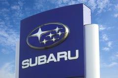 Λογότυπο Subaru στοκ εικόνα με δικαίωμα ελεύθερης χρήσης