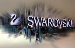Λογότυπο Swarovski Στοκ φωτογραφίες με δικαίωμα ελεύθερης χρήσης
