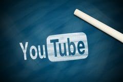 Λογότυπο YouTube Στοκ φωτογραφίες με δικαίωμα ελεύθερης χρήσης