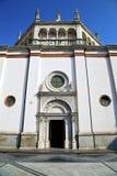 Λομβαρδία η παλαιά κλειστή εκκλησία ρυμούλκηση τούβλου arsizio busto Στοκ εικόνα με δικαίωμα ελεύθερης χρήσης