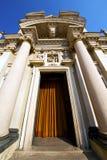 Λομβαρδία στο arsizio παλαιά κλειστή εκκλησία Ιταλία busto Στοκ φωτογραφίες με δικαίωμα ελεύθερης χρήσης