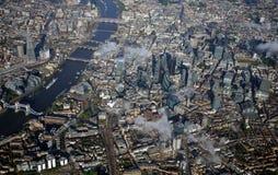 Λονδίνο κεντρικός άνωθεν στοκ φωτογραφίες