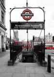 Λονδίνο υπόγεια στοκ εικόνα με δικαίωμα ελεύθερης χρήσης