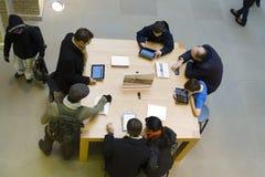 Λονδίνο Apple Store Στοκ Φωτογραφίες
