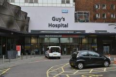 Λονδίνο Southwark νοσοκομείων τύπου Στοκ εικόνες με δικαίωμα ελεύθερης χρήσης