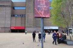 Λονδίνο Tate Modern Στοκ Εικόνες
