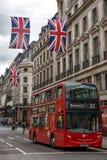 ΛΟΝΔΙΝΟ, ΑΓΓΛΙΑ - 16 ΙΟΥΝΊΟΥ 2016: Σύννεφα πέρα από την οδό αντιβασιλέων, Λονδίνο, Αγγλία, Μεγάλη Βρετανία Στοκ Εικόνα