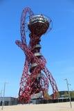 ΛΟΝΔΙΝΟ - 5 ΑΠΡΙΛΊΟΥ Η τροχιά Arcelor Mittal από τους Ολυμπιακούς Αγώνες Στοκ Εικόνες