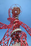 ΛΟΝΔΙΝΟ - 5 ΑΠΡΙΛΊΟΥ Η τροχιά Arcelor Mittal από τους Ολυμπιακούς Αγώνες Στοκ φωτογραφίες με δικαίωμα ελεύθερης χρήσης
