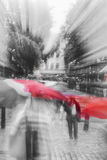 ΛΟΝΔΙΝΟ, UK - μια ημέρα βροχής Στοκ εικόνες με δικαίωμα ελεύθερης χρήσης