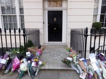 Σεβασμός στη Margaret Thatcher στοκ εικόνες