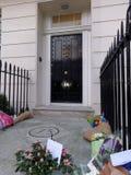 Σεβασμός στη Margaret Thatcher στοκ φωτογραφία