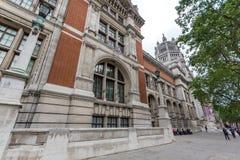 Λονδίνο, Αγγλία - 18 Ιουνίου 2016: Είσοδος Βικτώριας και Αλβέρτου Museum, Λονδίνο Στοκ φωτογραφίες με δικαίωμα ελεύθερης χρήσης