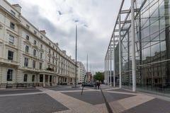 Λονδίνο, Αγγλία - 18 Ιουνίου 2016: Καταπληκτική άποψη του μουσείου επιστήμης, Λονδίνο Στοκ φωτογραφίες με δικαίωμα ελεύθερης χρήσης