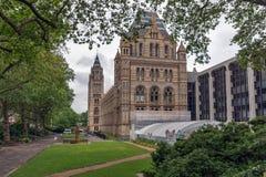 Λονδίνο, Αγγλία - 18 Ιουνίου 2016: Καταπληκτική άποψη του μουσείου φυσικής ιστορίας, Λονδίνο Στοκ Εικόνα