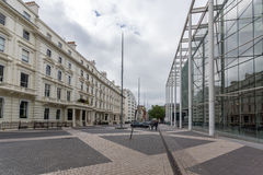 Λονδίνο, Αγγλία - 18 Ιουνίου 2016: Καταπληκτική άποψη του χαρακτηριστικού αγγλικού κτηρίου, Λονδίνο Στοκ Εικόνες