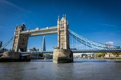 Λονδίνο από τον Τάμεση στοκ εικόνα με δικαίωμα ελεύθερης χρήσης