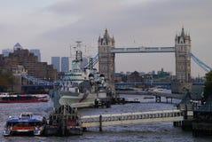 Λονδίνο - γέφυρα πύργων Στοκ εικόνα με δικαίωμα ελεύθερης χρήσης