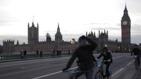 Λονδίνο Γουέστμινστερ απόθεμα βίντεο