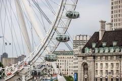 Λονδίνο μεγάλα ρόδα-4 Στοκ Εικόνες
