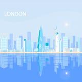 Λονδίνο - πρωτεύουσα του Ηνωμένυ Βασιλείου Μεγάλης Βρετανίας και βορείου ιρλανδίας Στοκ Φωτογραφία