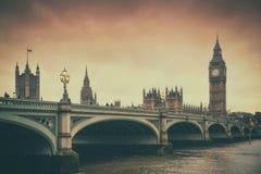 Λονδίνο & σέπια στοκ φωτογραφίες