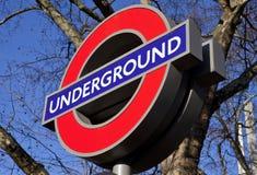 Λονδίνο υπόγεια Στοκ φωτογραφία με δικαίωμα ελεύθερης χρήσης