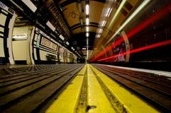 Λονδίνο υπόγεια Στοκ Φωτογραφίες