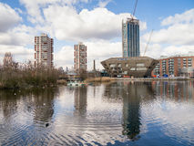 Λονδίνο Dockland Στοκ φωτογραφία με δικαίωμα ελεύθερης χρήσης