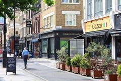 Λονδίνο Islington Στοκ εικόνα με δικαίωμα ελεύθερης χρήσης