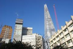 Λονδίνο shard στοκ φωτογραφίες