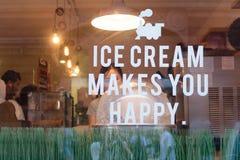 Λονδίνο, UK - 30 Αυγούστου 2016: Το παράθυρο καφέδων τραίνων γάλακτος στο Λονδίνο στοκ εικόνες