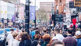 Λονδίνο, UK - 2$ος του Απριλίου του 2017: Χωριό κλειδαριών του Κάμντεν, διάσημο ALT Στοκ φωτογραφίες με δικαίωμα ελεύθερης χρήσης