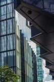 ΛΟΝΔΙΝΟ, UK - 22 ΑΥΓΟΎΣΤΟΥ: Σύγχρονη αρχιτεκτονική στην πόλη Lond Στοκ εικόνες με δικαίωμα ελεύθερης χρήσης