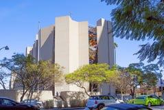 Λος Άντζελες, ΗΠΑ, καθολική εκκλησία 2016:02:24 Βασιλικός, σύγχρονο κτήριο σε Wilshire Στοκ Φωτογραφίες