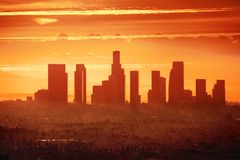 Λος Άντζελες Στοκ φωτογραφία με δικαίωμα ελεύθερης χρήσης