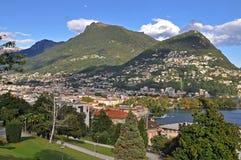 Λουγκάνο Ελβετία στοκ φωτογραφίες με δικαίωμα ελεύθερης χρήσης