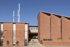 Λουθηρανική εκκλησία τριάδας στο Fort Worth, TX, ΗΠΑ Στοκ Φωτογραφίες