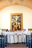 λουθηρανική ιεροτελεστία επιβεβαίωσης εκκλησιών Στοκ Φωτογραφίες