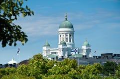 Λουθηρανικός καθεδρικός ναός, Ελσίνκι, Φινλανδία Στοκ Φωτογραφία