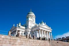 Λουθηρανικός καθεδρικός ναός του Ελσίνκι Στοκ φωτογραφίες με δικαίωμα ελεύθερης χρήσης