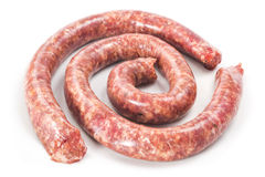 Λουκάνικα βόειου κρέατος Στοκ Εικόνες