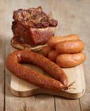 λουκάνικα κρέατος Στοκ Εικόνα