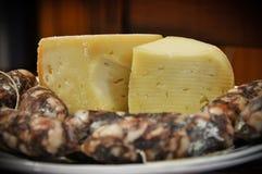 λουκάνικα τυριών Στοκ Φωτογραφία