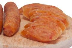 Λουκάνικα χοιρινού κρέατος Στοκ Εικόνες