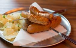 Λουκάνικο χοιρινού κρέατος της Ασίας Στοκ Εικόνα