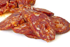 Λουκάνικο χοιρινού κρέατος Στοκ Φωτογραφία
