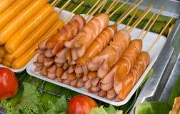 Λουκάνικο χοιρινού κρέατος Στοκ εικόνα με δικαίωμα ελεύθερης χρήσης