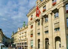 Λουκέρνη, Ελβετία - 19 Οκτωβρίου 2017: Τουρίστες και Ελβετός στο τ Στοκ εικόνα με δικαίωμα ελεύθερης χρήσης