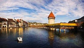 Λουκέρνη Ελβετία Στοκ Εικόνα
